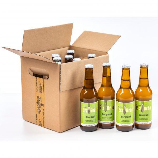 Bio Erzbräu Bergquell Paket 12x0,33l Bierflasche Fotocredit: Theo Kust