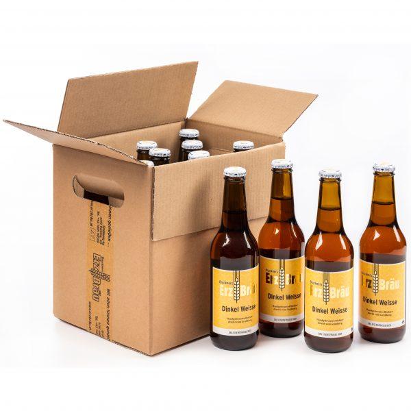 Bio Erzbräu Dinkel Weisse Paket 12x0,33l Bierflasche Fotocredit: Theo Kust