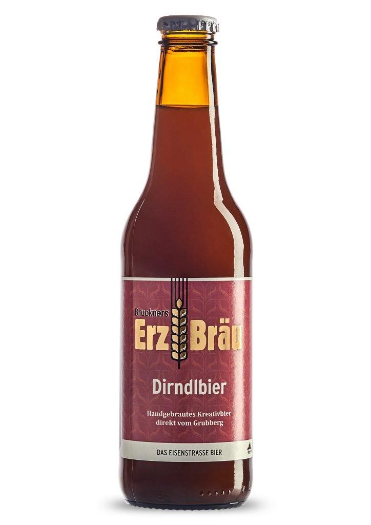 Bio Dirndlbier 0,33 l Flasche