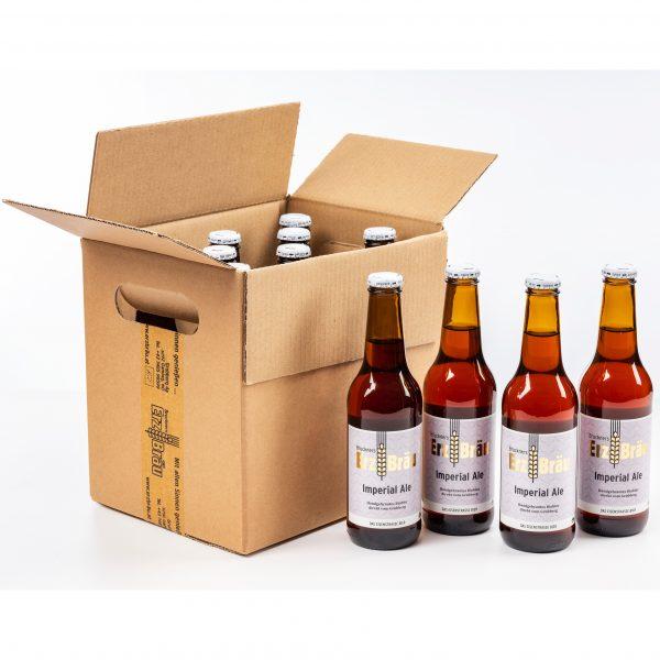 Bio Erzbräu Imperial Ale Paket 12x0,33l Bierflasche Fotocredit: Theo Kust