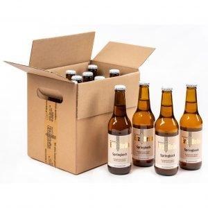 Bio Erzbräu Springbock Paket 12x0,33l Bierflasche Fotocredit: Theo Kust