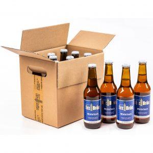 Bio Erzbräu Winterbock Paket 12x0,33l Bierflasche Fotocredit: Theo Kust