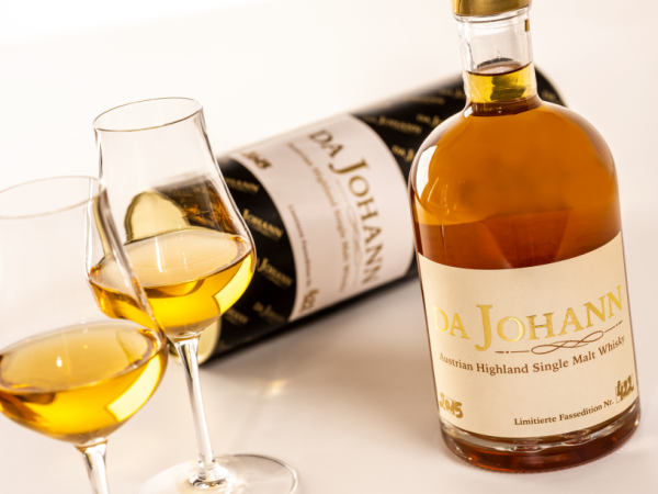 Da Johann Single Malt Whisky Fotocredit: Theo Kust