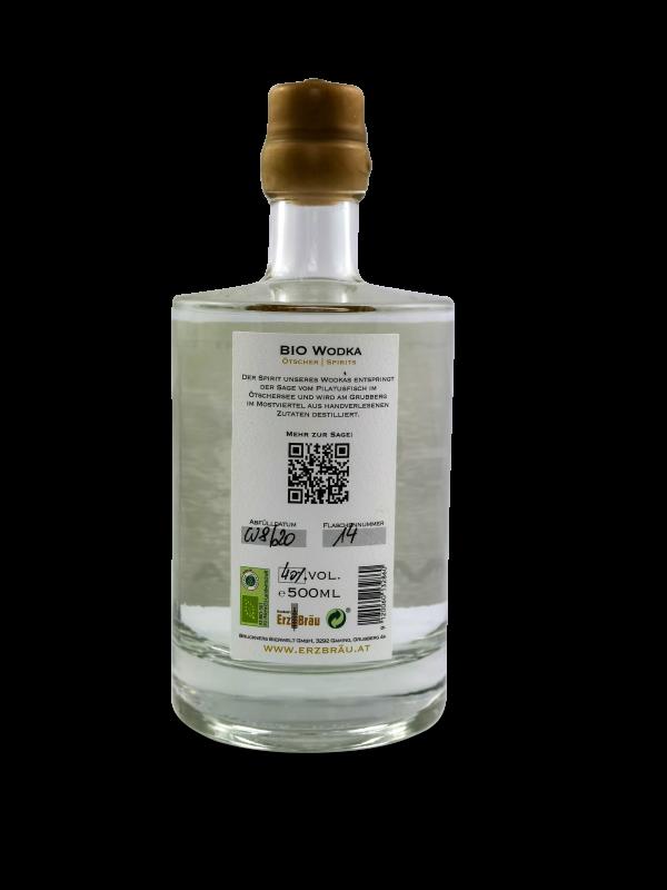 bio gersten wodka produktfoto 0,5l hinten