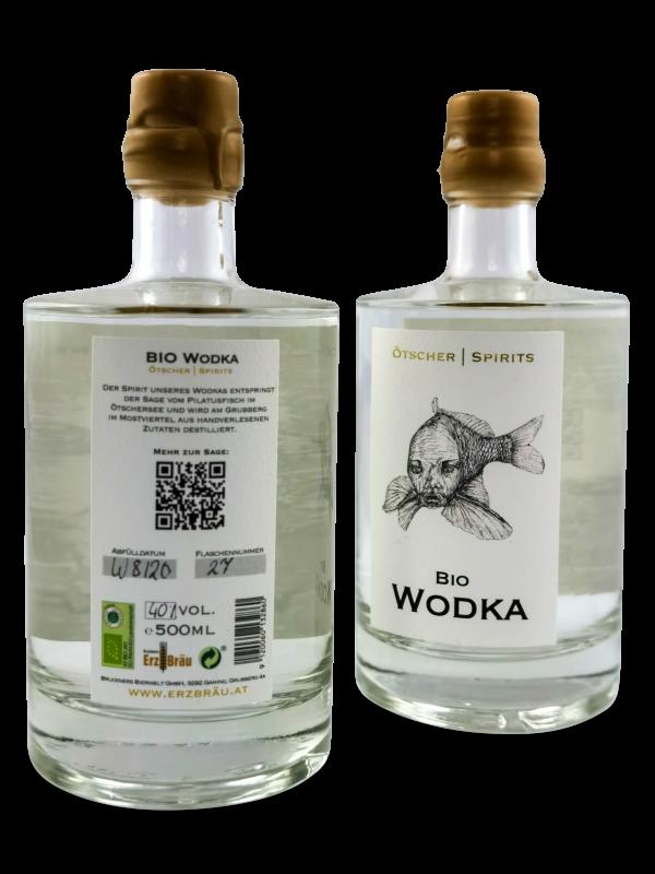bio gersten wodka produktfoto 0,5l hinten vorne