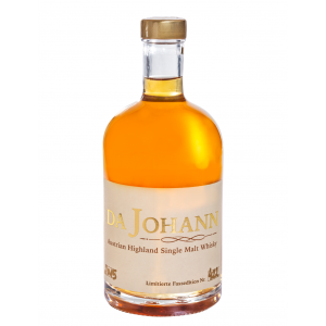 da johann single malt whisky
