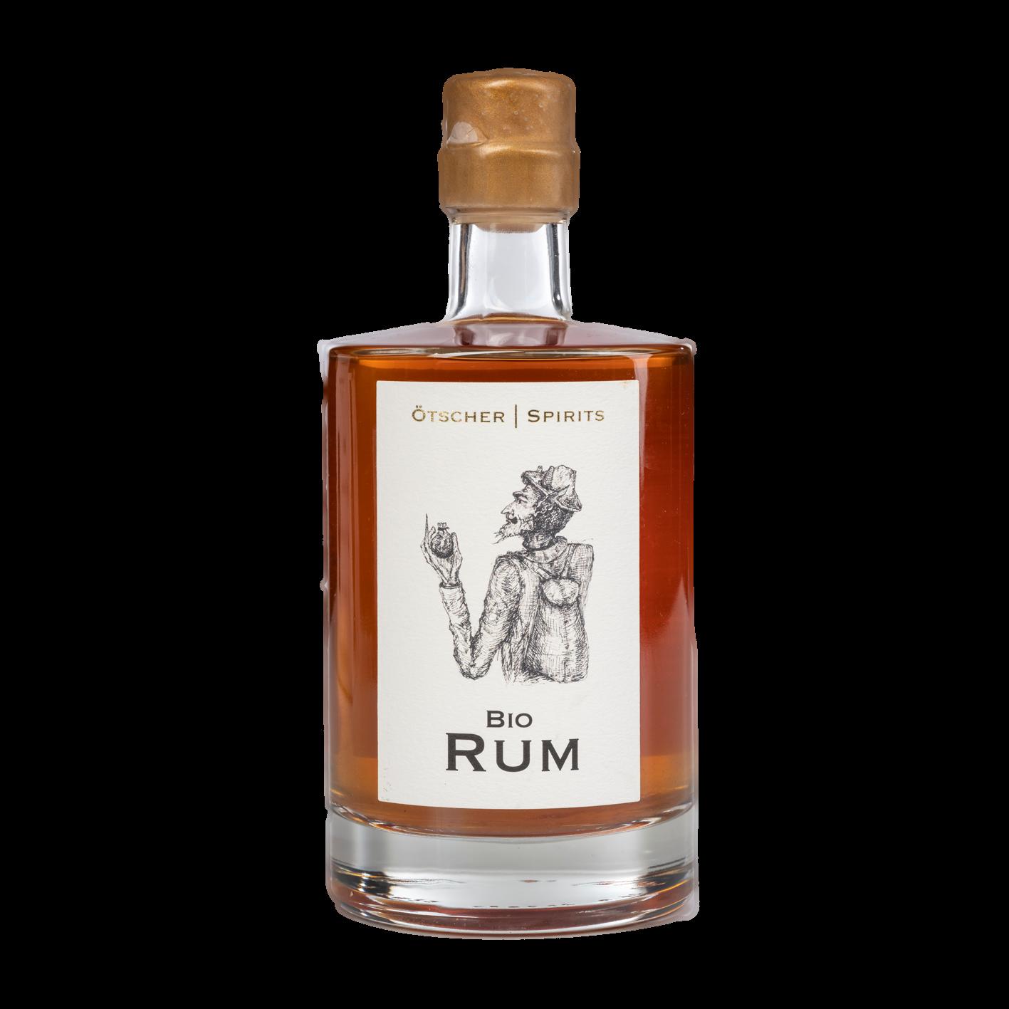 Bio Rum 0,5 l Produktfoto Ötscher Spirits