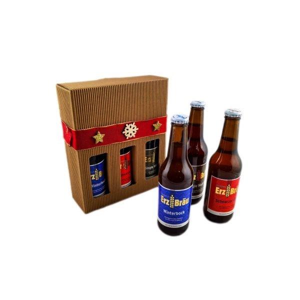 Bio Erzbräu Bierbox Tricolore Produktfoto
