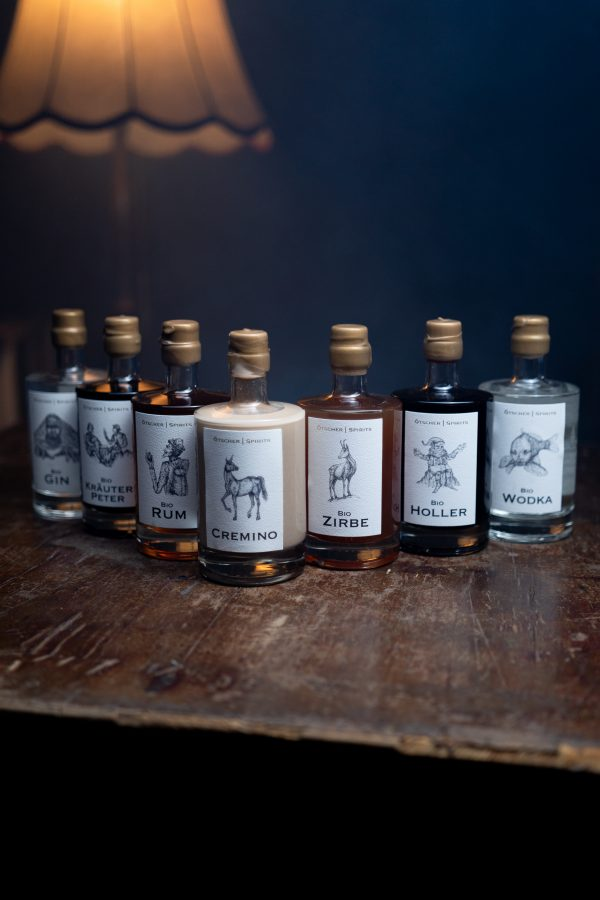 Ötscher Spirits Bio Mix 0,5l Flasche Imagefoto @snegshot