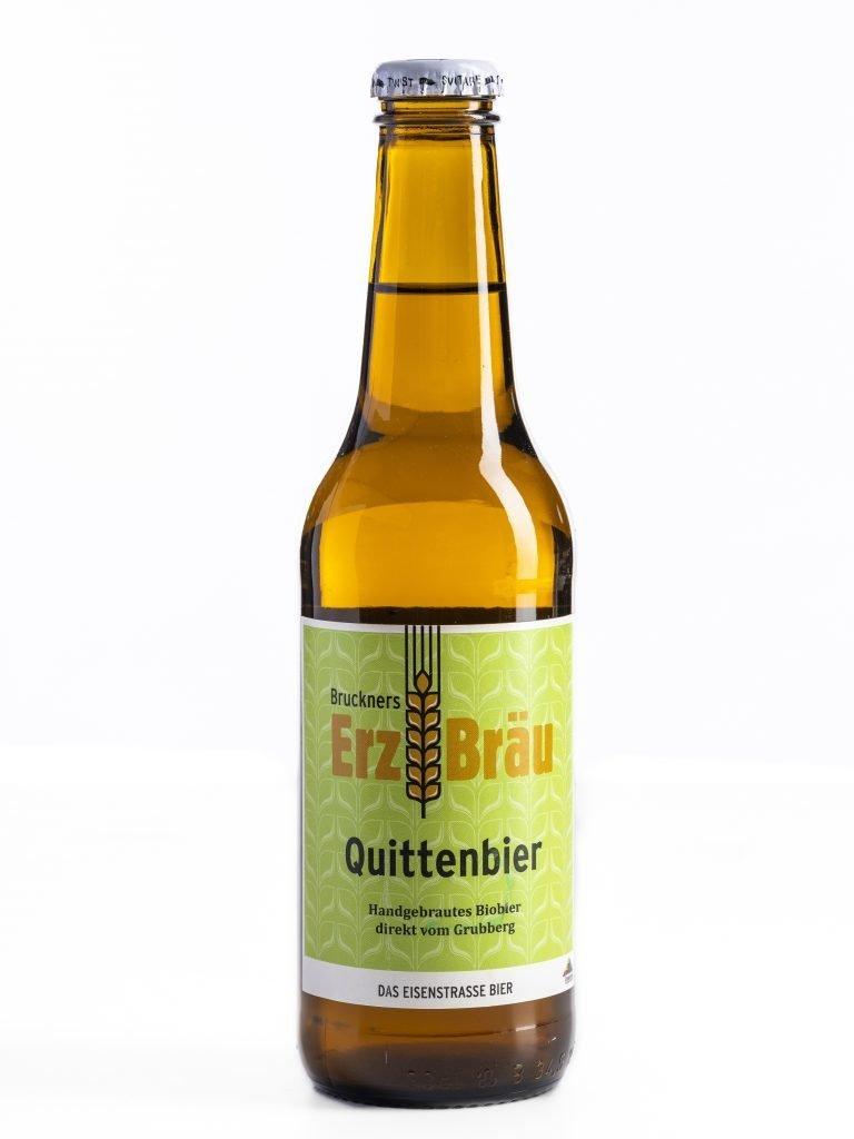 Bio Quittenbier 0,3l Flasche