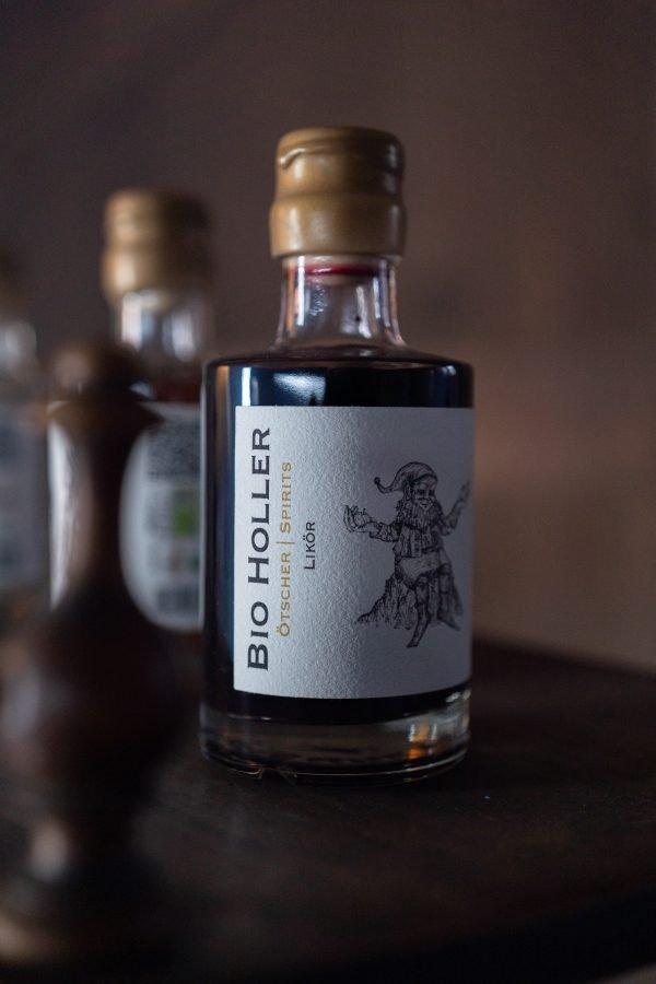 Bio Holler 0,2l Flasche Imagefoto @snegshot