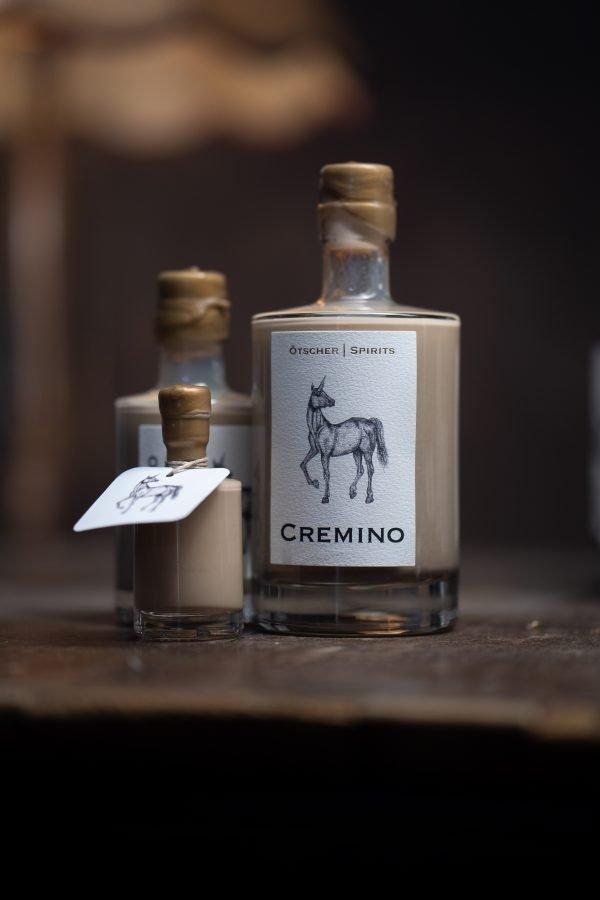 Cremino Flasche alle Größen Imagefoto
