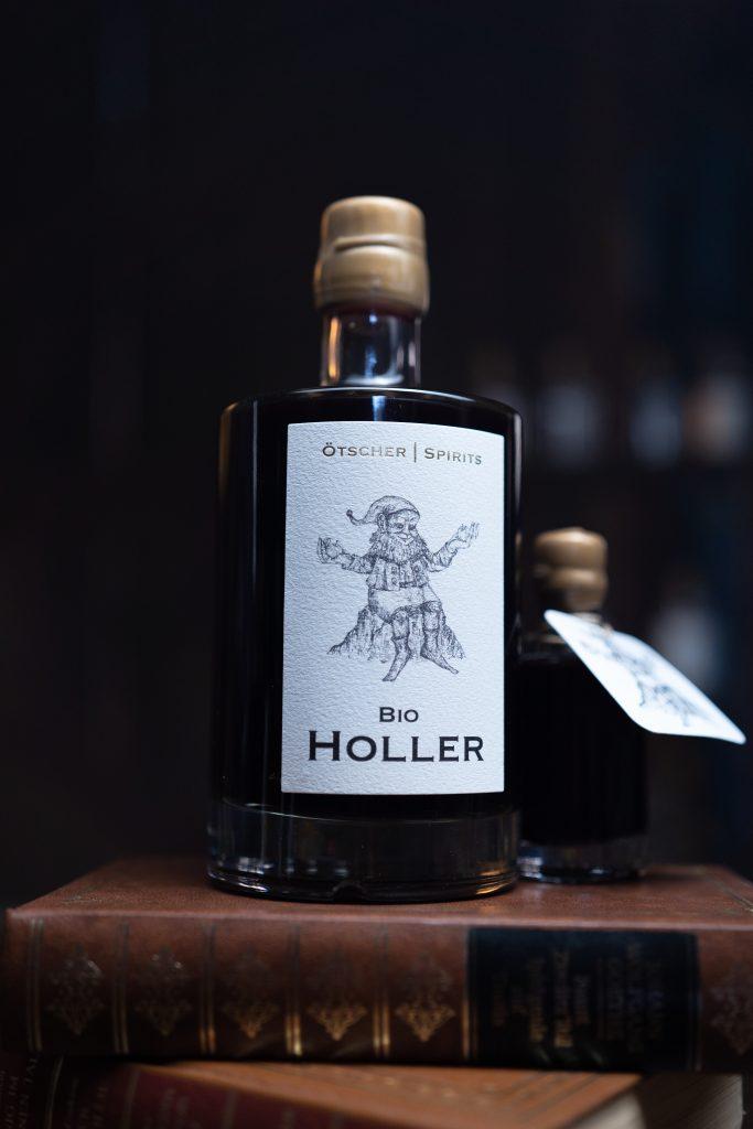 Bio Holler 0,5l Flasche Imagefoto