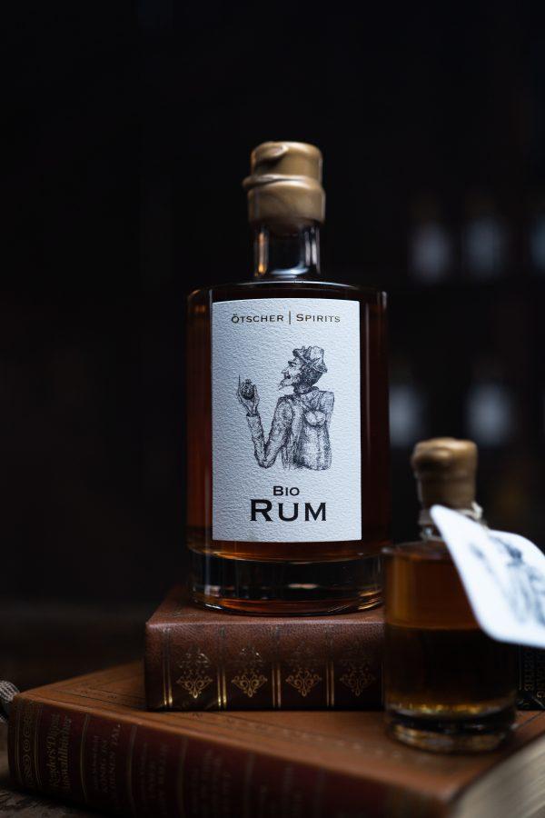 Ötscher Spirits Bio Rum 0,5l Flasche Imagefoto @snegshot