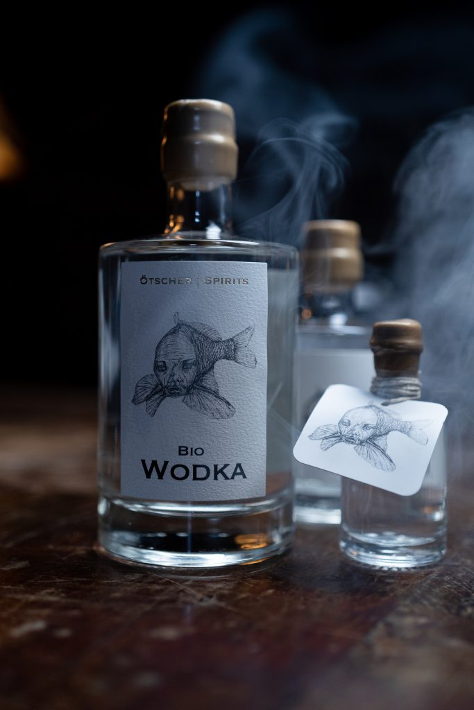 Bio Wodka diverse Flasche Imagefoto @snegshot