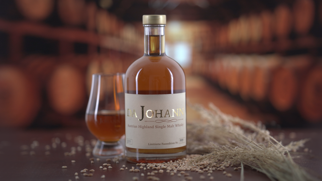 Da Johann Austrian Single Malt Whisky Imagefoto